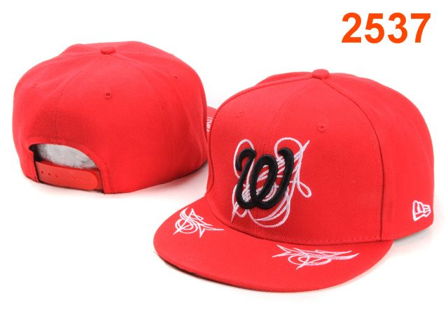 Washington Nationals MLB Snapback Hat PT118